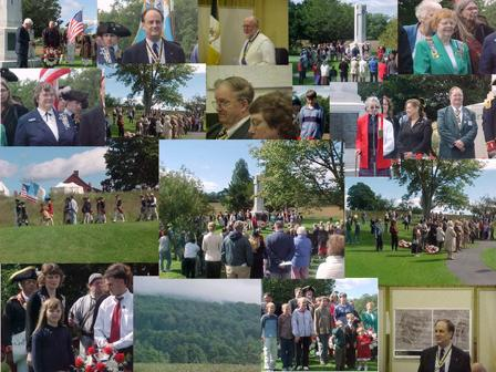 2004 Wreath Laying Ceremony photo collage