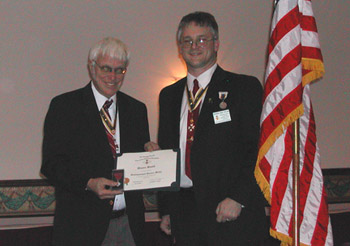 Duane Booth (l) & Rich Fullam (photo courtesy of Dianne Fullam)