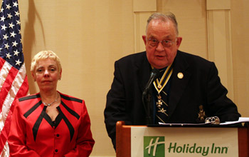 Major Eleanor Morris (Ret.) and Major G. William Glidden (Ret.)- Photo: Rick Saunders