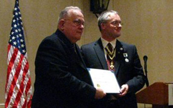Past President Bill Glidden and President Rich Fullam - Photo: Rich Fullam