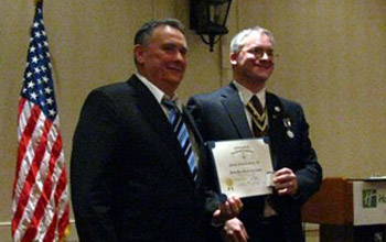 2nd Vice President Charlie Walter and President Rich Fullam - Photo: Rich Fullam