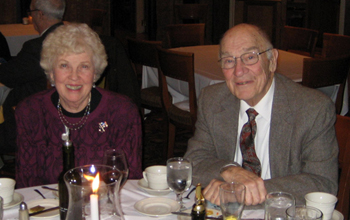 Walloomsac Battle Chapter President John Sheaff and wife, DAR Lois Sheaff