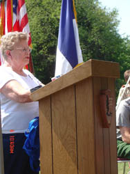 Marie Burch, Friends of Saratoga Battlefield