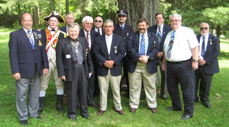 (left to right) Tim Mabee, Mike Companion, Tom Dunne (front), Doug Reynolds (rear), Duane Booth, Steve Coye, Pat Festa, Joel Coye, George Malinoski, Dennis Marr, Dave Newton, and Dave Marsh.  Missing from photo is Bill Nottingham