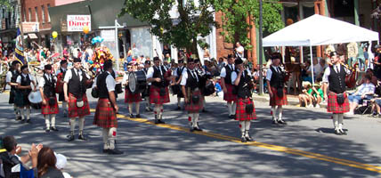 Adirondack Pipes and Drums, South Glens Falls, NY