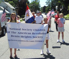 Bemis Heights Society, C.A.R.	We are proud to be a joint sponsor of your society! - Photo by Duane Booth
