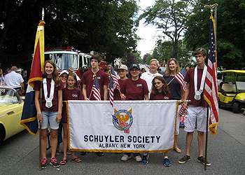 Members of the Schuyler Society C.A.R